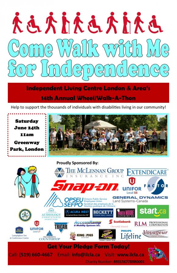 Come Walk With Me For Independence 2017 | Independent Living