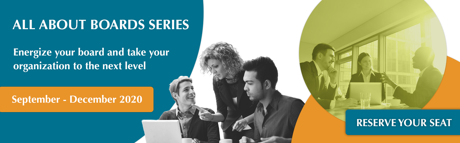 All About Boards Series: Energize your board and take your organization to the next level. Reserve your seat.